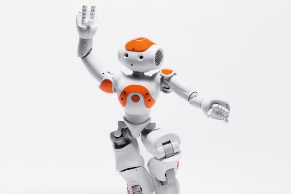 Robot v Centru Černý Most