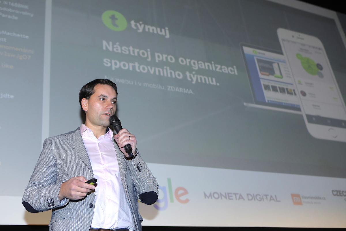 Petr Salomon prezentuje Týmuj na 29. AppParade