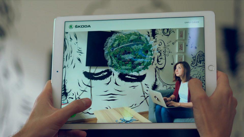 Uživatelé si mohou vyzkoušet jízdu po virtuální planetě Karoq