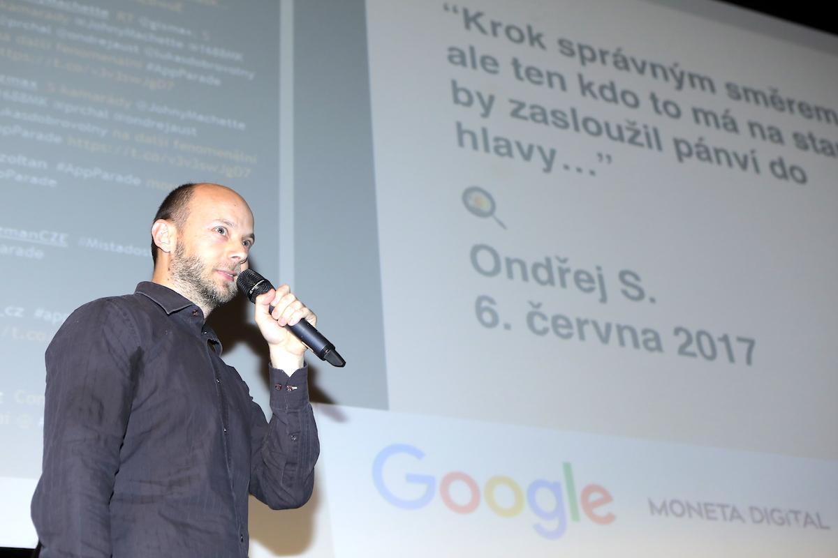 Aplikaci Equa bank představil na AppParade vývojář Xhevi Qafmolla