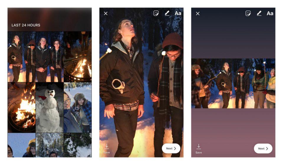 Fotky a videa můžou mít libovolnou velikost
