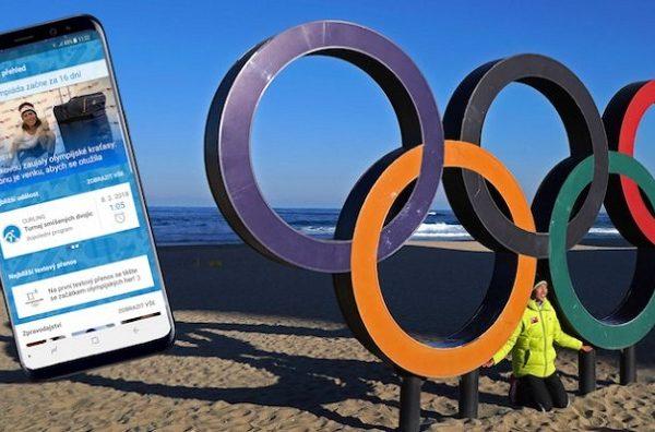 Olympiáda na dotyk ruky. T-Mobile opět má aplikaci pro fanoušky