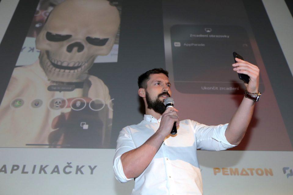 Facy divákům AppParade předvedl Jurij Vančický