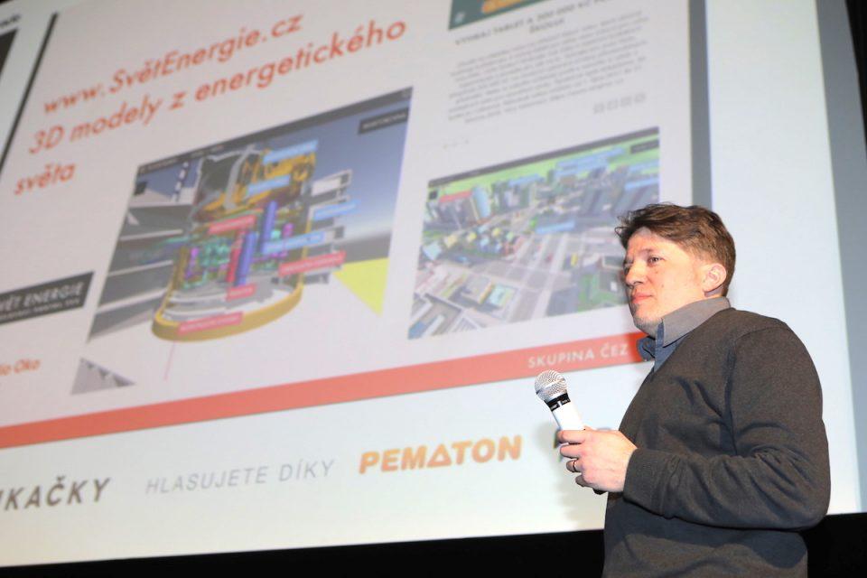 Novou aplikaci ČEZ Smart City 3D prezentoval Martin Schreier