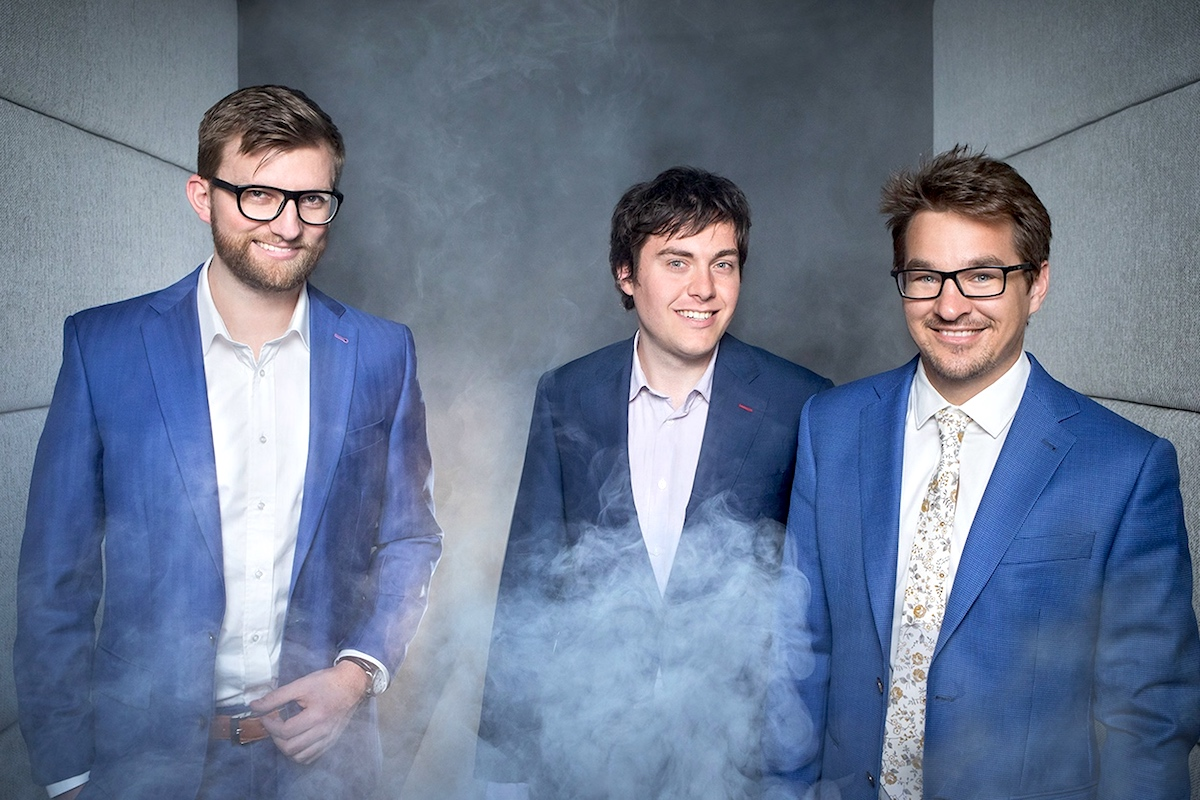 Zakladatelé Ackee (zleva) Josef Gattermayer, Dominik Veselý a Martin Půlpitel. Foto: Tomáš Hercog