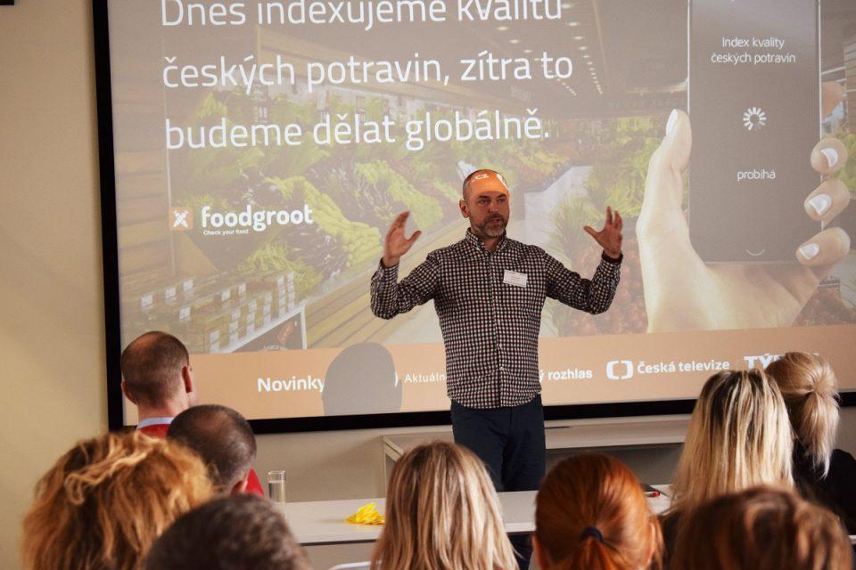 Petr Václavek na únorové Shopper Marketing Breakfast v Praze