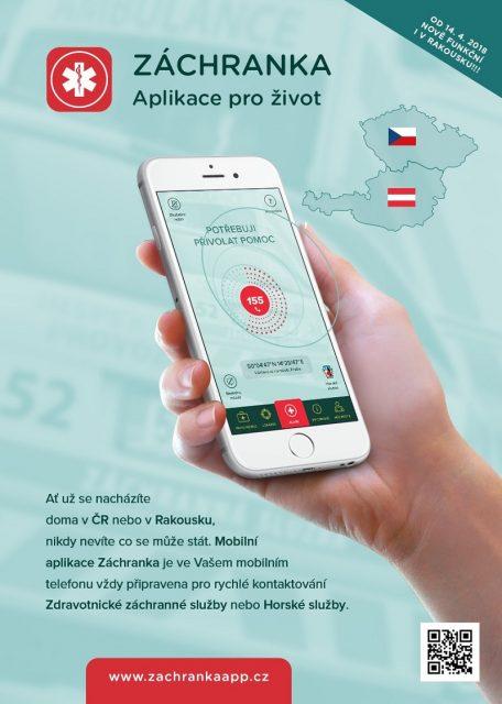 Záchranka funguje pro Čechy i na celém území Rakouska