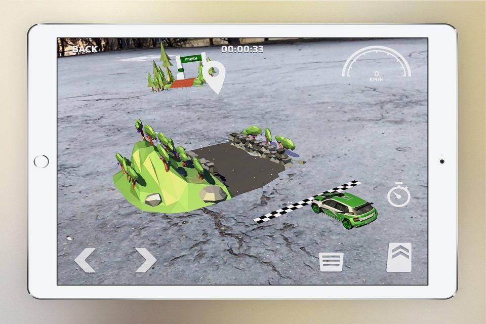 Škodovka má od Brainz VR další aplikaci, pro model Fabia R5