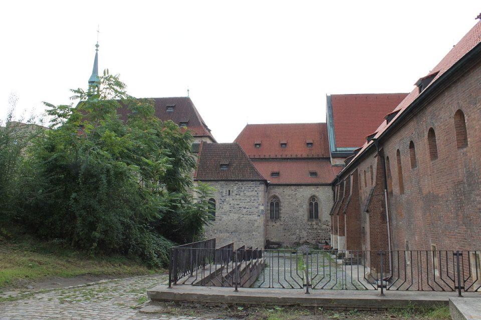 Výstava, pro kterou je aplikace navržena, probíhá v klášteře sv. Anežky české