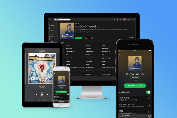 Spotify přidává žánrové playlisty, nově také šetří data