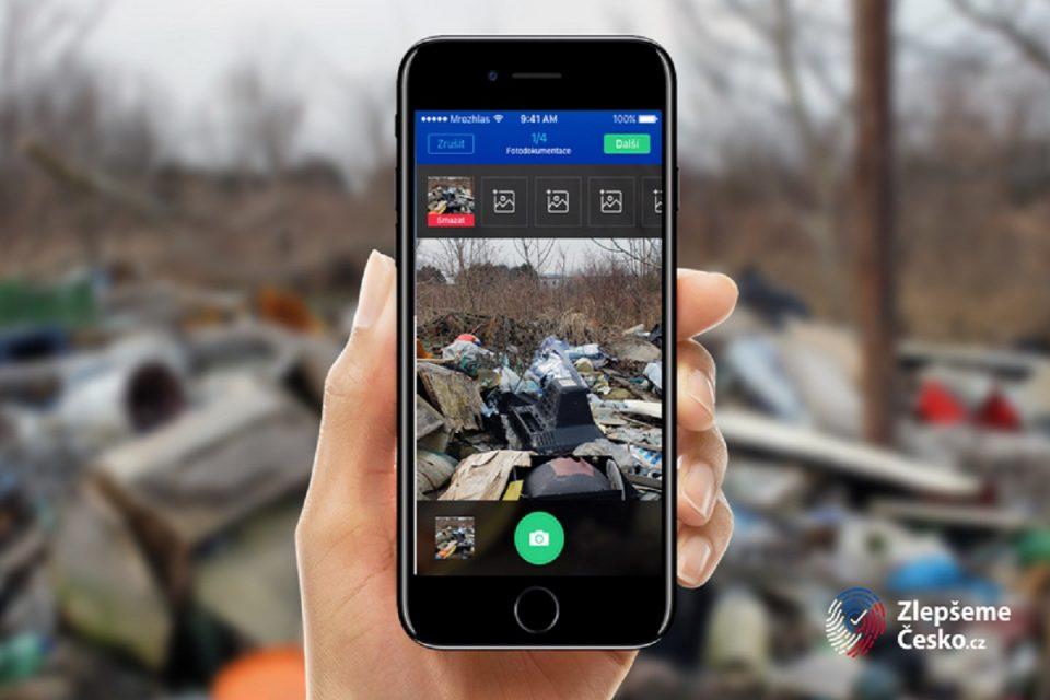 Startuje platforma Zlepšeme Česko, umožní řešit komunální problémy přes mobil
