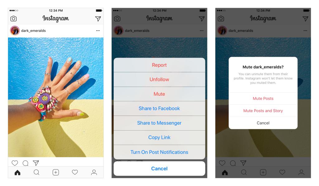 Nově lze vypnout zobrazování příspěvků uživatelů, a přesto je dál sledovat