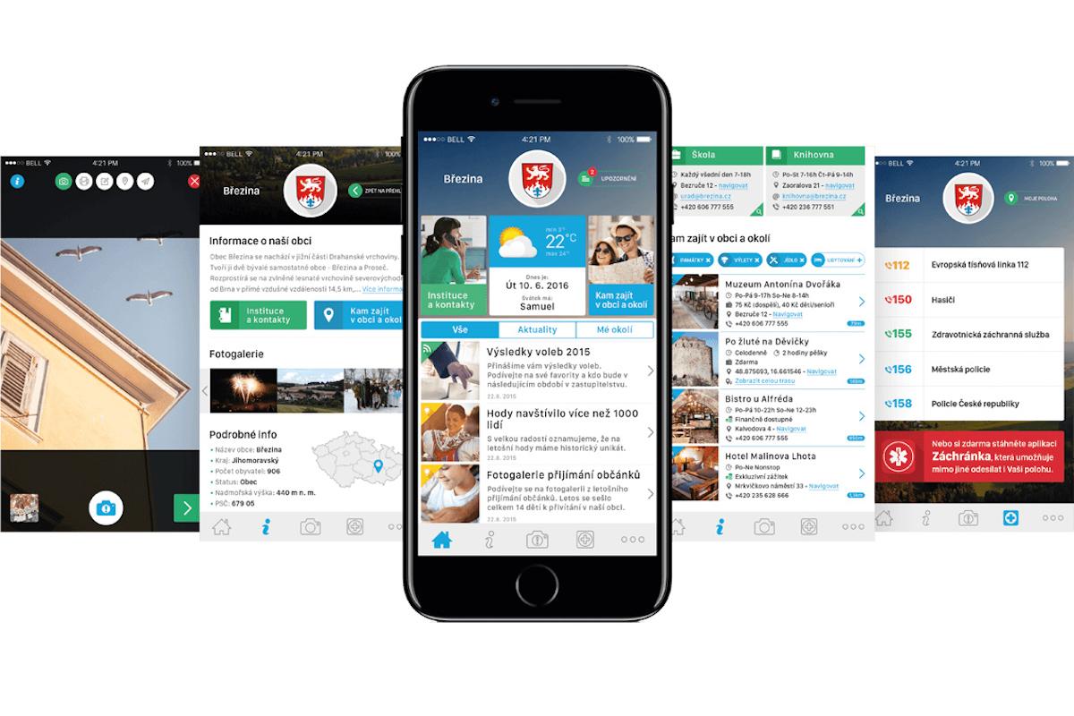 Mobilní rozhlas umožňuje komunikaci obcí se svými občany pomocí mobilní aplikace