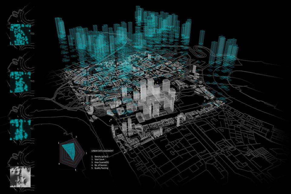 Virtuální mapa Smart City zobrazí data v několika nezávislých vrstvách (Ilustrační foto: Smart Prague)