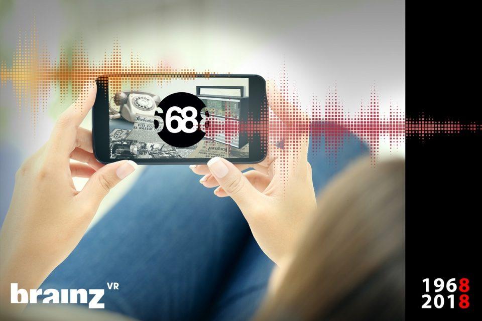 Aplikace cílí zejména na mladší publikum, kterému se snaží přiblížit události roku 1968
