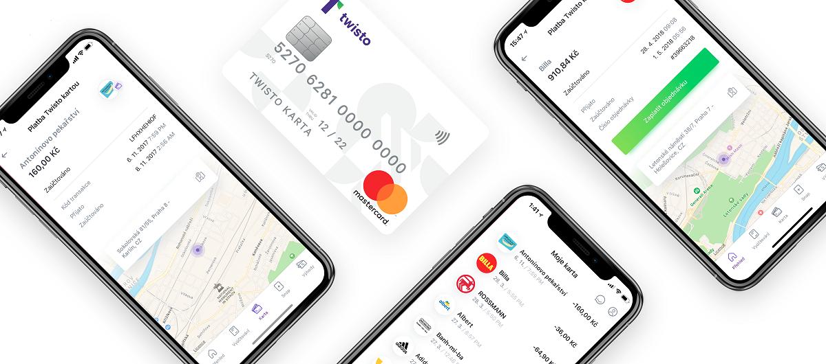 U každé transakce nově přibyla mapa s místem platby a logo firmy