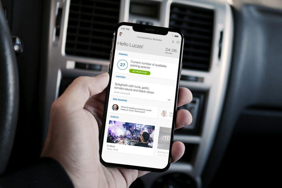 Zaměstnanci uvidí přímo ve svém smartphonu, kde jsou volná parkovací místa
